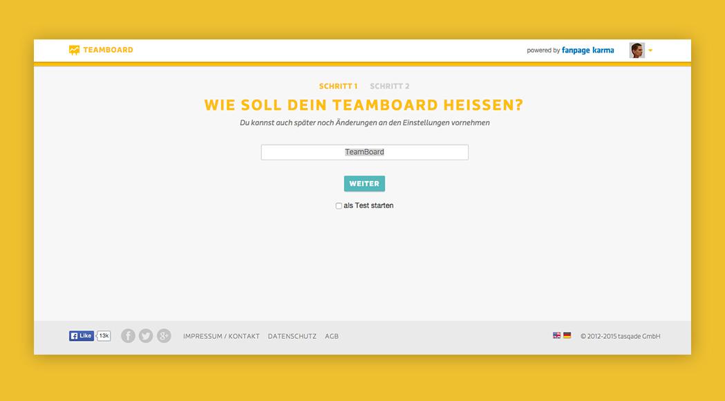 MaritaHeinzelmann_UX_UI_Design_Teamboard_FanpageKarma_Teamboard_erstellen1